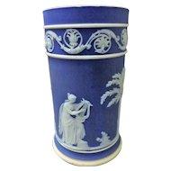 Wedgwood Arcadian Jasper Ware Spill Vase - Circa 1898