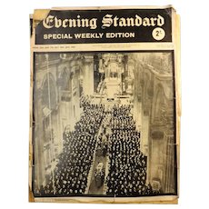 Winston Churchill  - Special Weekly Edition EVENING STANDARD January 1965