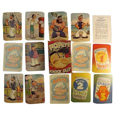 POPEYE 'Knockout' Children's Playing Cards