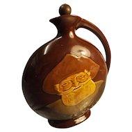 Royal Doulton FALSTAFF Dewars Whisky Flask - Kingsware Series