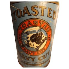 BULLDOG No.3 Toasted Navy Cut Tobacco Cylinder