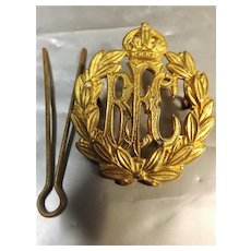 Royal Flying Corps World War One Hat Badge