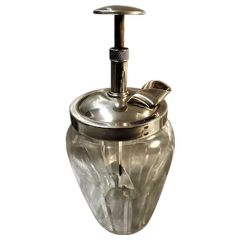 "Art Deco Cocktail Drinks Mixer ""THE RAPID"" 1933"