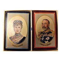 King George V  & Queen Mary  Silver Jubilee 1935 - De La Rue Playing Cards