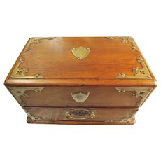 Edwardian Gents Smoking Box / Travel Case