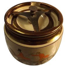 Gray's Pottery Tobacco Jar / Humidor - Circa 1920's