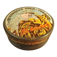 Tobacco Tin ' Riverhead Gold' - New Zealand Circa 1920's