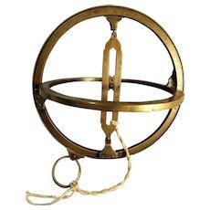 Antique  HEMISFERIUM Astronomical Ring or Sunwatch
