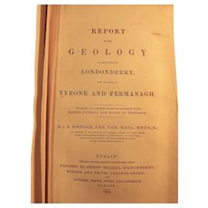 REPORT On The Geology of The County of Londonderry - J.E. Portlock 1843