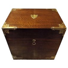 Edwardian Large Cased Tantalus