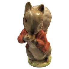 "BESWICK Beatrix Potter ""Timmy Tiptoes"""