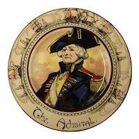"""Royal Doulton Cabinet Plate """"The Admiral"""" D 6278"""