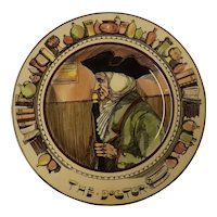 """Royal Doulton Cabinet Plate """" The Doctor"""" D6281"""