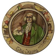 "Royal Doulton Cabinet Plate ""The Squire"" D 6284"