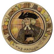 """Royal Doulton Cabinet Plate """" The Parson"""" D 6280"""