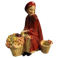 "Royal Doulton Figurine "" Bonnie Lassie"" HN 1626"