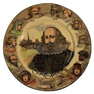 Royal Doulton Shakespeare Cabinet Plate D6303