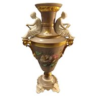 Magnificent Large Classical European Vase Circa 1880