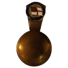 S.S. Tamaroa Souvenir Tea Caddy Spoon