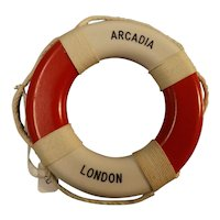 S.S. Arcadia P & O Liner Souvenir Mini Lifebuoy