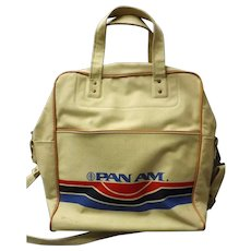 Superb Old PAN AM Airlines Carry Bag