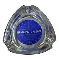 PAN AM Advertising Promotional Ashtray - Circa 1980