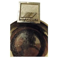 Air France Advertising Ashtray Circa 1980