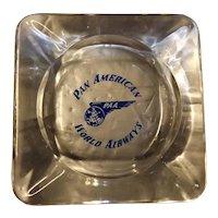 Pan American Airways Souvenir Ashtray