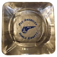 Pan American Airways Souvenir Ashtray