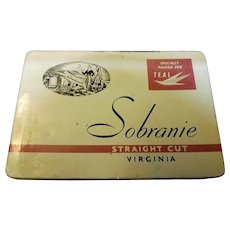 TEAL Airlines New Zealand SOBRANIE Cigarettes Tin