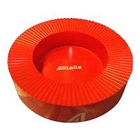 ALITALIA Airlines Advertising Ashtray