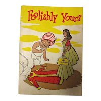 """Air India Promotional Booklet """"Foolishly Yours"""" Circa 1960's"""