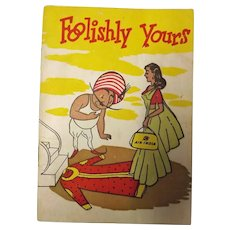 "Air India Promotional Booklet ""Foolishly Yours"" Circa 1960's"