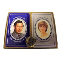 Lady Diana Spencer & Prince Charles  Royal Wedding Commemorative Playing Cards Double Pack
