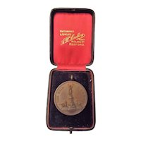 """The Society of Miniature Rifle Clubs Bronze """"Bell Medal"""""""