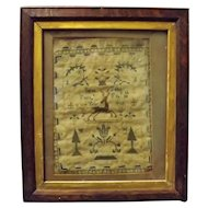 Georgian Sampler William IV 1832