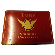 TURF Virginia Cigarettes Tin