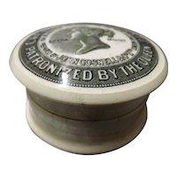 Victorian Cherry Tooth Paste Pot - John Cosnell & Co Ltd