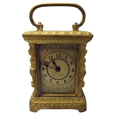 Ansonia Petite Carriage Clock Circa 1904