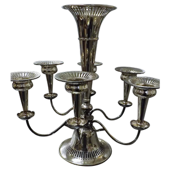 Outstanding Stewart Dawson & Co Edwardian Silver Plated Table Centre Piece Circa 1905 - 1910