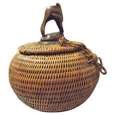 DAYAK Sharman's Medicine Pot - Borneo Circa 1920 - 1930