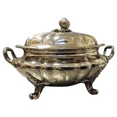 Magnificent Georgian Regency Old Sheffield Plate Soup Tureen