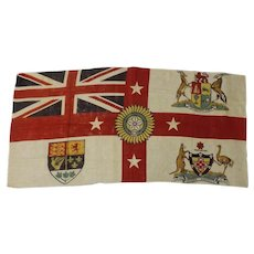 Flag of The British Empire Exhibition - London 1924-1925