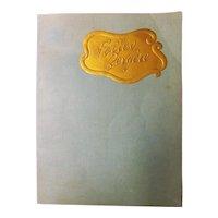 """Folies Bergere"" Program Circa 1950's -Paris"