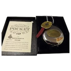 "A ""Dalvey Pocket Cup"" in Original Presentation Box - Grants -Scotland"