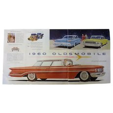 1960 Oldsmobile - Original Advertisement From The Saturday Evening Post Magazine