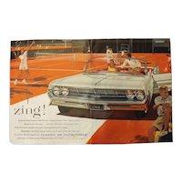 1961 Classic 98 Oldsmobile - Original Advertisement Saturday Evening Post