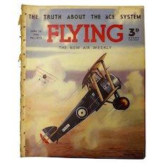 FLYING Magazine - June 25th 1938