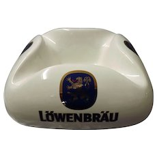 Massive LOWENBRAU Beer Cigar or Bar Ashtray