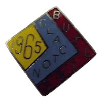 Vintage BUTLINS Holiday Camp Badge Clacton 1965